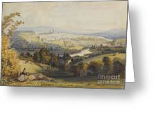 Exeter From Exwick, 1773 Greeting Card