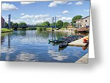 Exeter Quays 2 Greeting Card