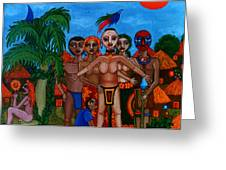 Exiled In Homeland Greeting Card