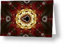 Exiled Mandelbrot No. 9 Greeting Card