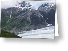 Exit Glacier Greeting Card
