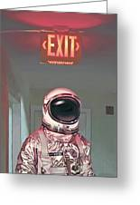 Exit Greeting Card