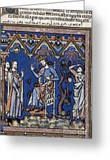 Exodus: Plague Of Hail Greeting Card