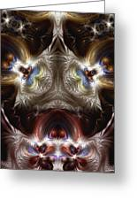 Exogenic Symmetry 1 Greeting Card