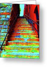 Exorcist Steps Greeting Card