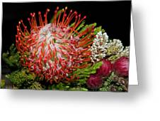 Exotic Bouquet Greeting Card