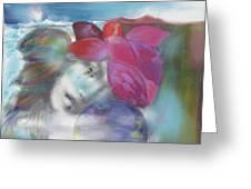 Exotiqua Lady Greeting Card