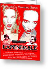 Expendable Poster Greeting Card