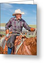 Experienced Cowboy Greeting Card