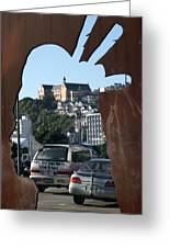 Experiencing Welly Through Art Greeting Card