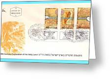 explorers First day cover Greeting Card