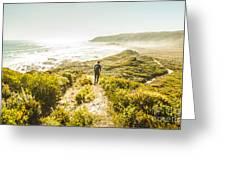 Exploring The West Coast Of Tasmania Greeting Card