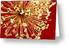 Explosion Enhanced Greeting Card