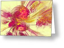 Explosion Of Color Greeting Card