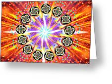 Explosion Of Emotions Greeting Card