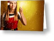Explosive Christmas Gift Idea Greeting Card