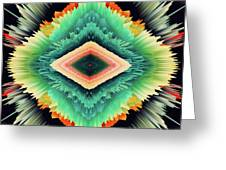 Exponential Flare Greeting Card
