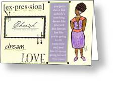 Expression Greeting Card