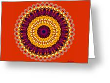 Expression No. 7 Mandala Greeting Card