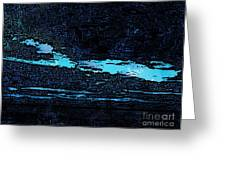 Expressionist View IIi Greeting Card