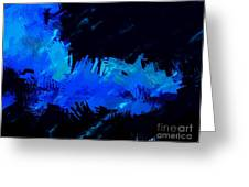 Expressionist View V Greeting Card