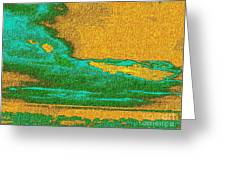 Expressionist View Vi Greeting Card