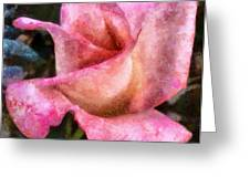 Exquisite Pink Greeting Card