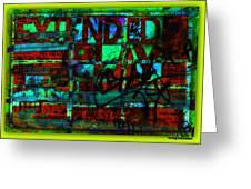 Extended Play Graffiti Radio/tonyadamo Greeting Card