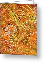 Extravaganza Orange Greeting Card