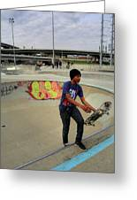 Extreme Skate Park Greeting Card