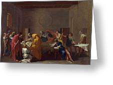 Extreme Unction Nicolas Poussin Greeting Card