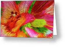 Extruded 692 Greeting Card