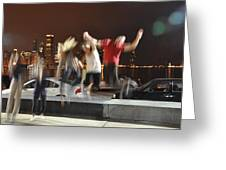 Exuberance Of Youth Greeting Card