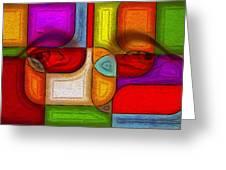 Eye Abstract Greeting Card
