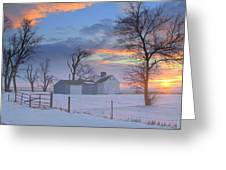 Eye Candy..winters Greeting Card