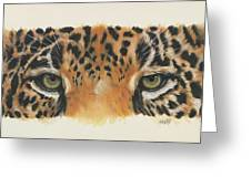Jaguar Gaze Greeting Card