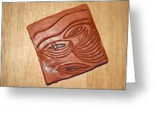 Eye In Year 10 - Tile Greeting Card