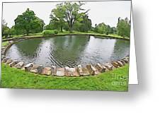 Eye Lake Greeting Card