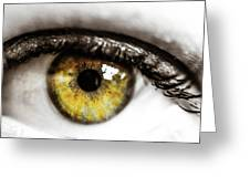 Eye Macro3 Greeting Card