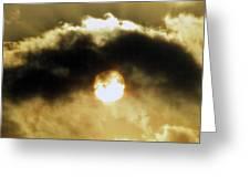 Eye Of Heaven Greeting Card