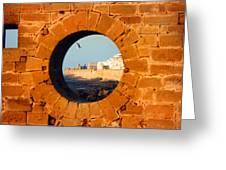 Eye Of The Beef  Essaouira  Mogador Greeting Card