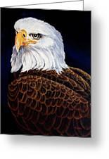 Eye Of The Eagle Greeting Card