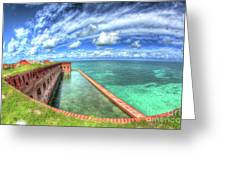 Eye Of The Fort Greeting Card