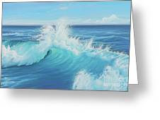 Eye Of The Ocean Greeting Card