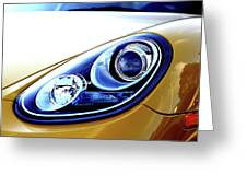 Eye Of The Porsche Greeting Card