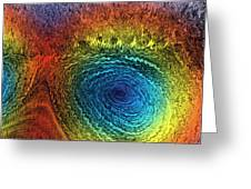 Eye Of The Storm Greeting Card