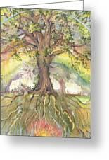 Eye See My Healing Tree Greeting Card