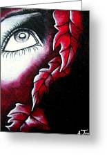 Eye See Red Greeting Card