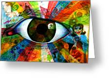 Eye To The Soul Greeting Card