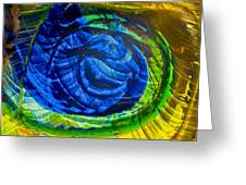 Eyeing A Storm Greeting Card